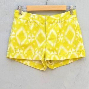 Banana republic Ryan fit linen yellow shorts
